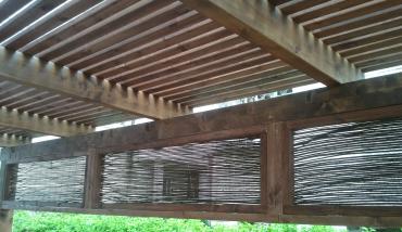 פרגולות עץ מעוצבות