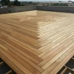 מערכת סיפון דק עשוי עץ טיק בורמסי